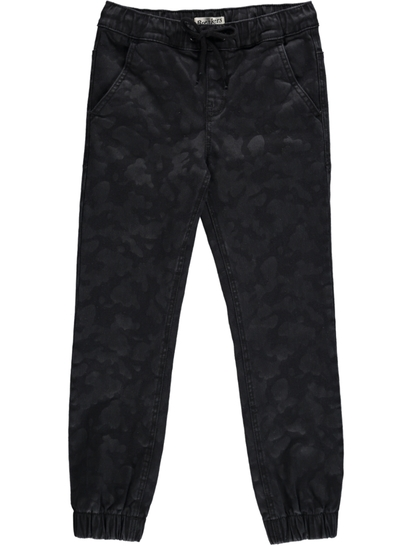 Boys Printed Denim Jogger