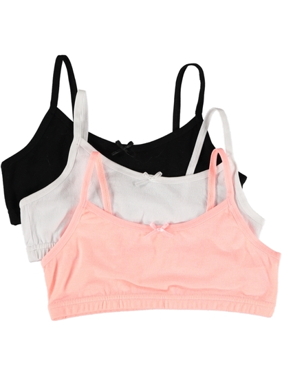 3 Pack Girls Crop