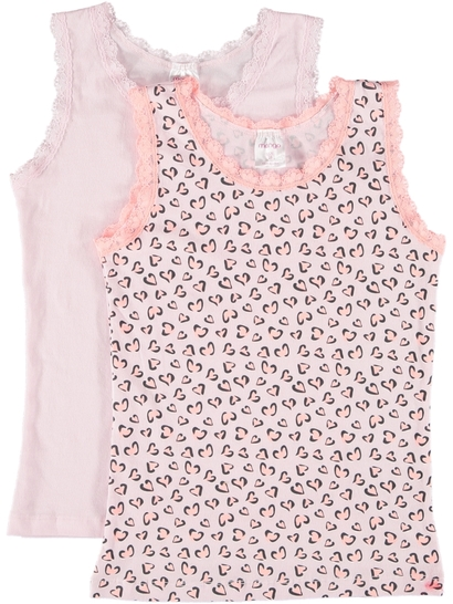 Girls 2 Pack Singlet