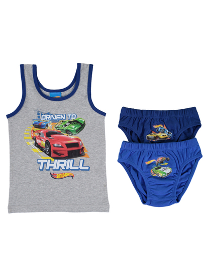 Boys Licence Underwear Pack - Hot Wheels
