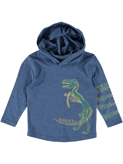 Toddlers L/S Fashion Hooded Tee