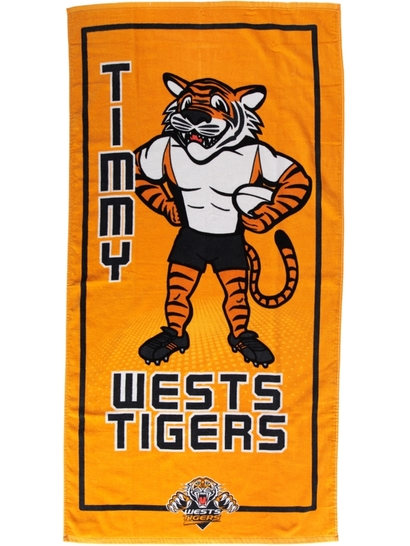 Toddler Nrl Beach Towel
