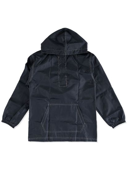 NAVY BLUE KIDS PULL OVER SPRAY JACKET