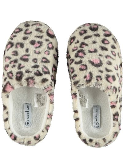 Women Fur Star Scuff