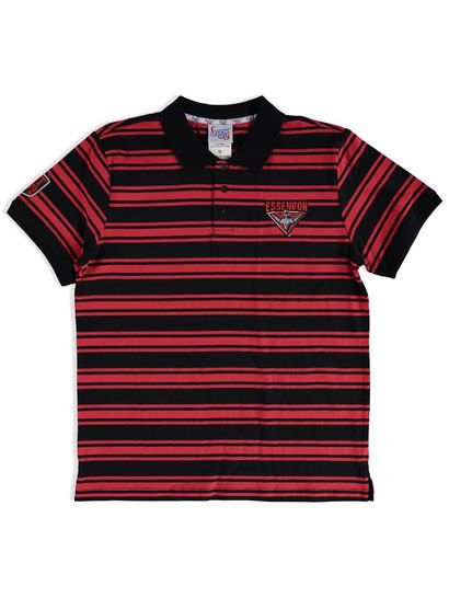 AFL MENS STRIPE POLO
