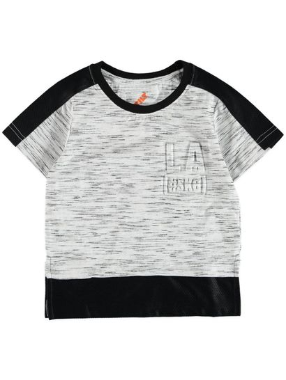 Toddler Boy Fashion Mesh Tee