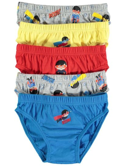 Boys 5 Pack Brief