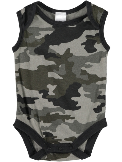 Baby Sleeveless Print Bodysuit
