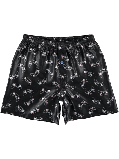 BOYS 6-14 SATIN BOXER