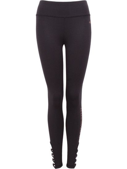 Womens Plus Run Lattice Leggings