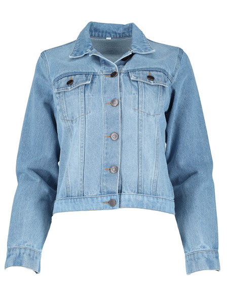 Plus Denim Jacket Womens | Tuggl