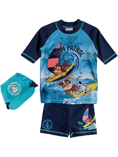 Toddler Boys 3Pc Pawpatrol Swim Set