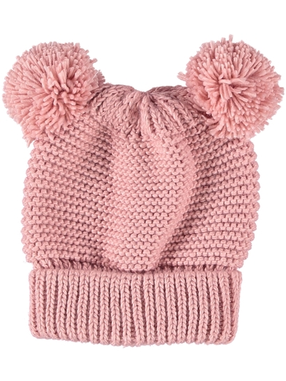 e1431dec343 Girls Core Pom Pom Beanie