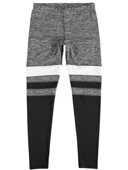 Womens Plus Active Stripe Legging