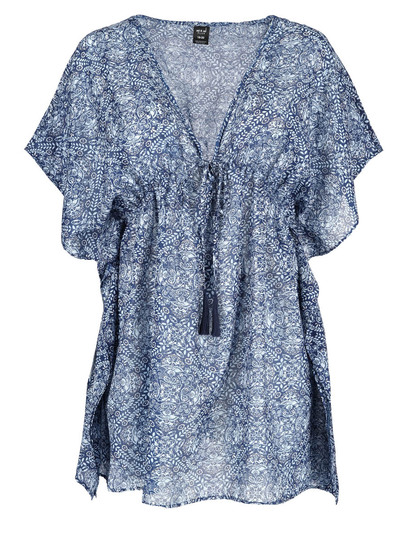 Womens Plus Printed Cover Up