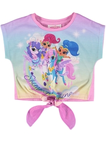 Toddler Girls Shimmer And Shine  Tee