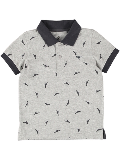 Boys Dinosaur Polo Shirt
