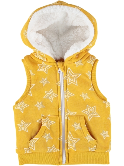 Toddler Girls Sherpa Vest