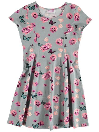 Girls Princess Seam Dress