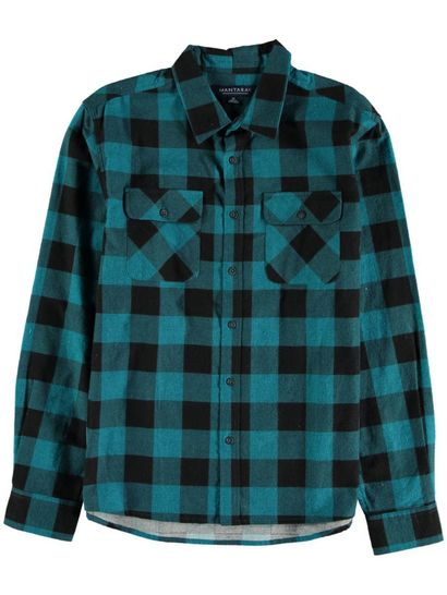 Mens Flannelette Shirt