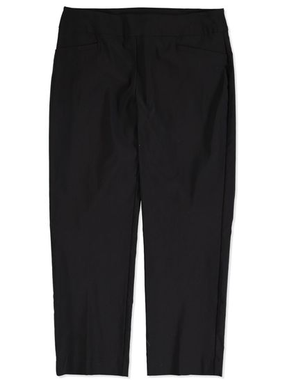 PLUS PULL ON BENGALINE CROP PANT WOMENS