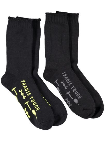TRADIE 2PK WORK SOCK