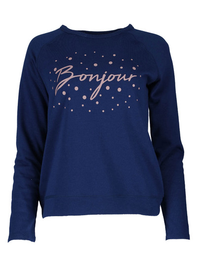 Plus Printed Sweater Womens