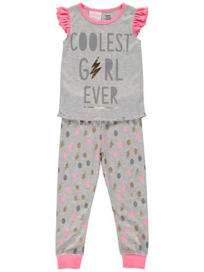 Girls Knit Pyjama Set