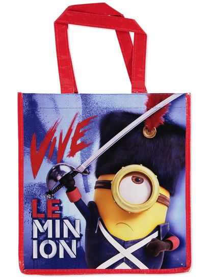 LICENCED SHOPPER BAG MINIONS