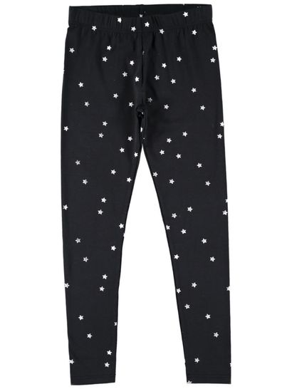 Girls Foil Leggings