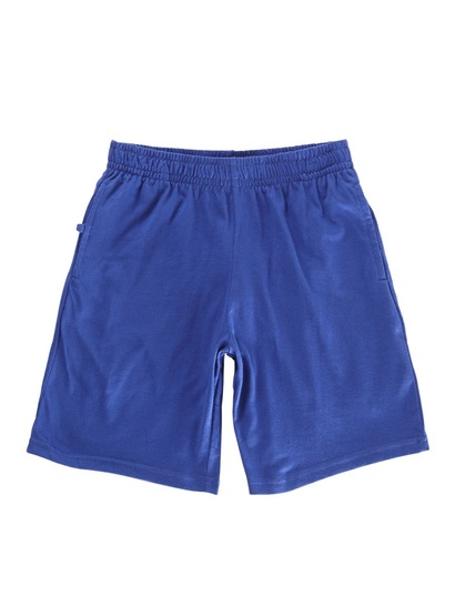 ROYAL BLUE KIDS KNIT SHORTS