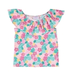 Girls Print Top