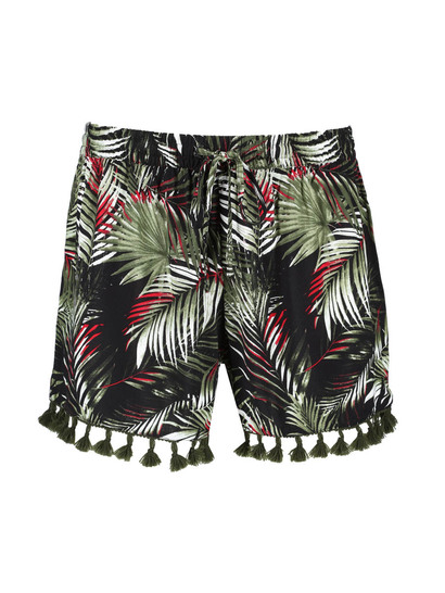 Womens Tassel Short