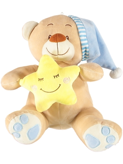 Sleeping Teddy Boy Plush