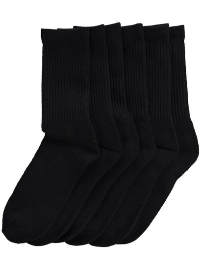 MENS 3PK CREW SPORT SOCKS