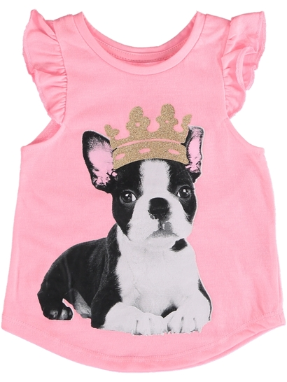 Toddler Girls Print Tank Top