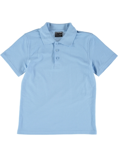 SKY BLUE KIDS POLO