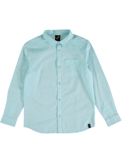 Boys Long Sleeve Woven Shirt
