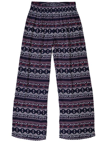 WOMENS PLUS SIZE CRINKLE PANT