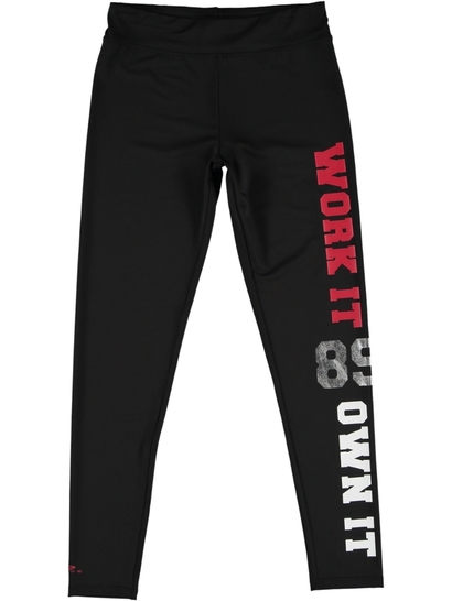Girls Active Slogan Legging