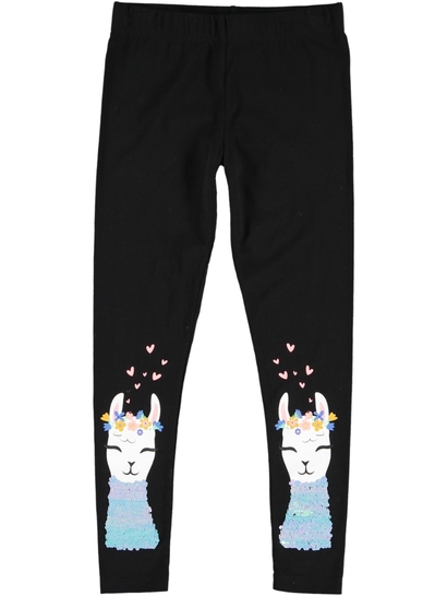 Girl Leggings With Sequins