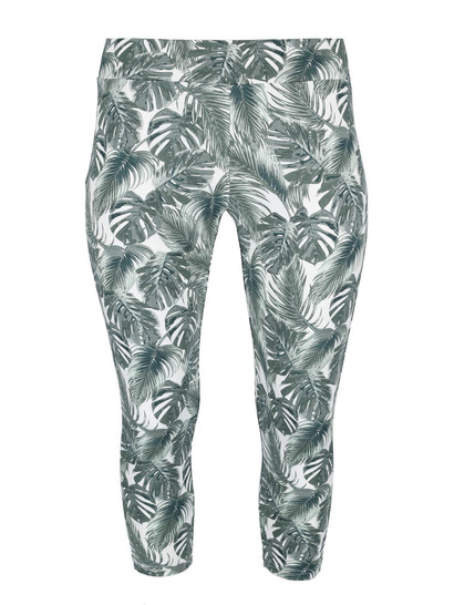 Womens Plus Print Leggings