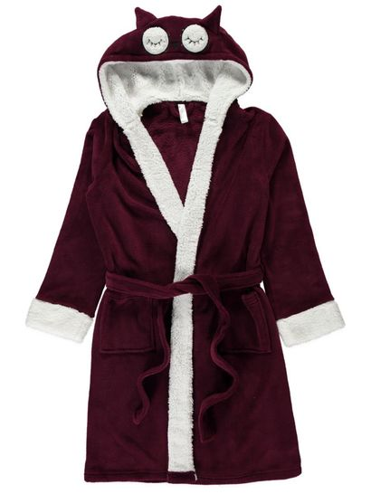 Novelty Owl Dressing Gown