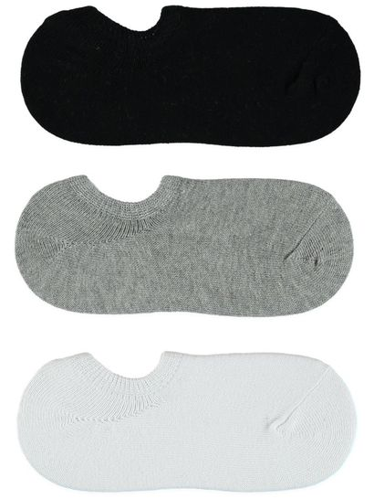 Boys 3Pk No Show Underworks Socks