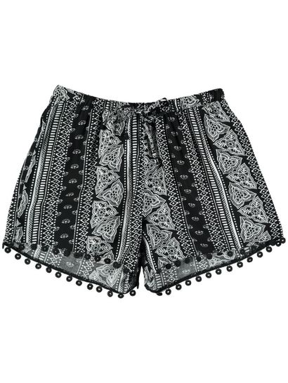 Womens Crochet Trim Short