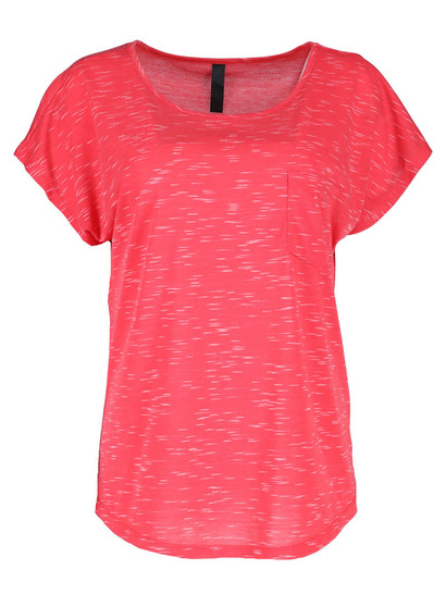 Plus Space-Dye Tee Womens