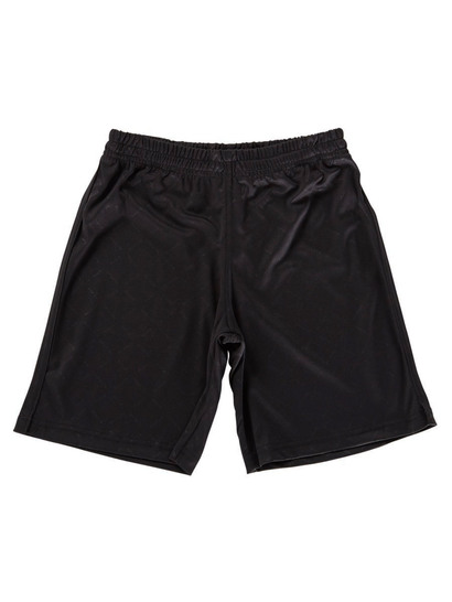 BLACK BOYS SOCCER SHORTS
