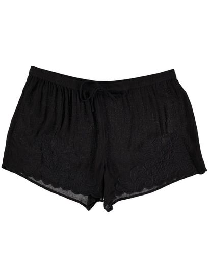 Womens Crochet Front Short