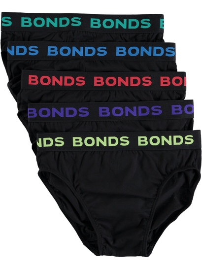 Mens Bonds 5Pk Briefs