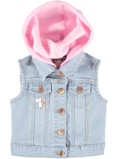 Toddler Girls Denim Vest